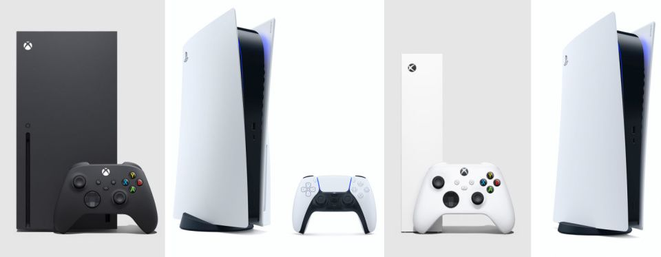 Сравнение Playstation 5, Xbox Series X и Xbox Series S