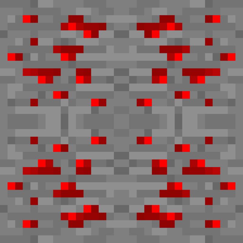 rrrrrrrrrrrMinecraft_Block_Ore_Redstone_mirror