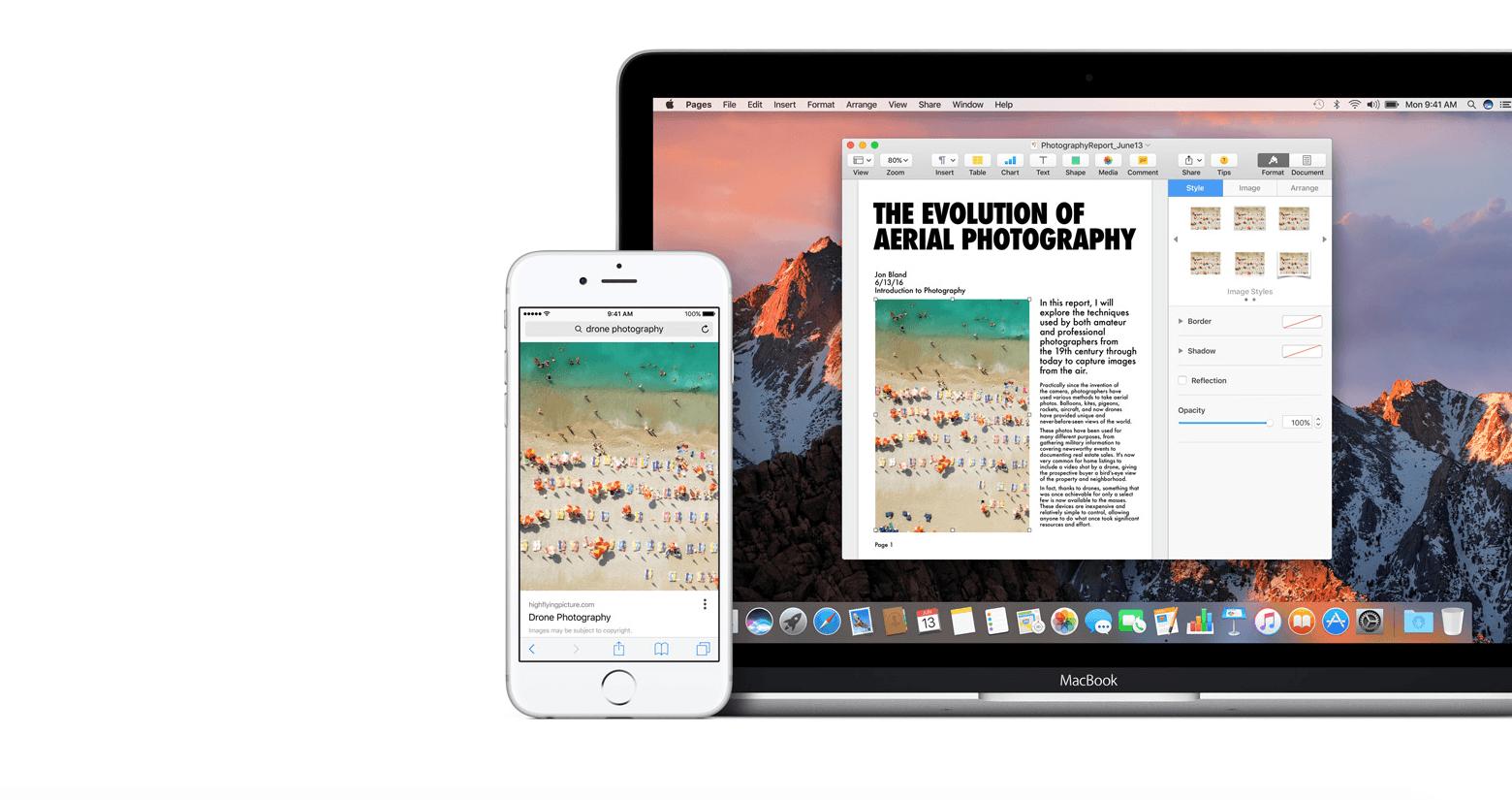 Обмен контентом между iOS и macOS