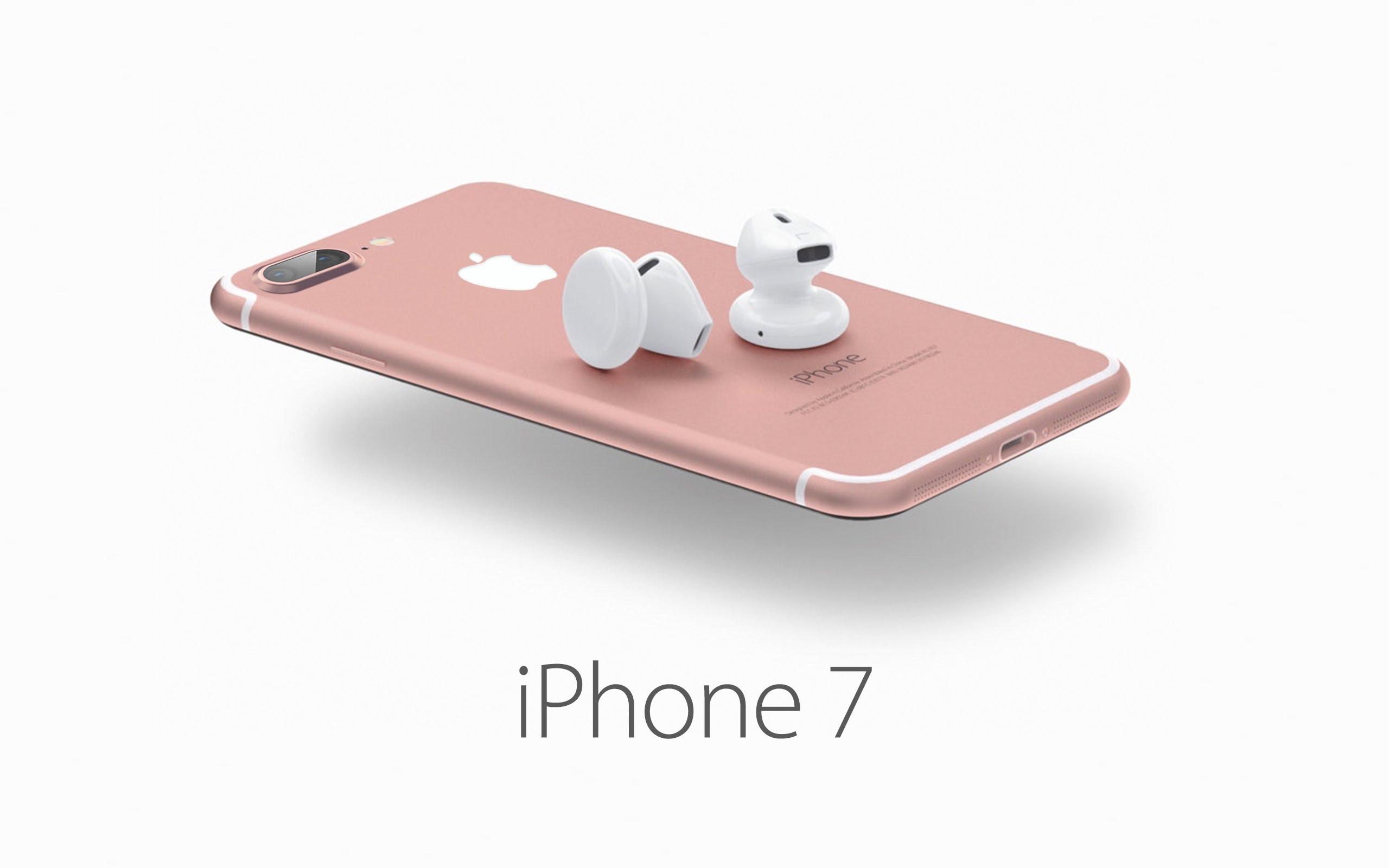 Рендер iPhone 7