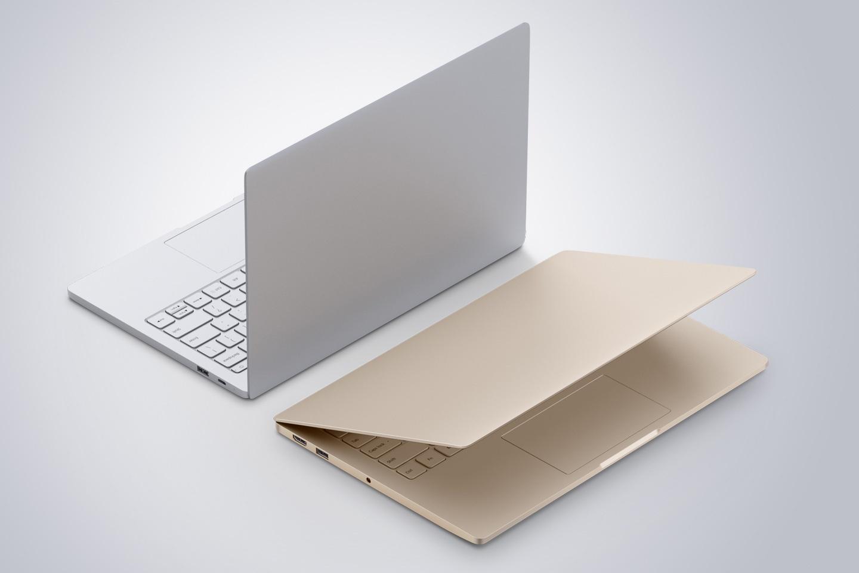 Mi Notebook Air в золотом и сером цветах